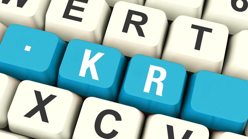 KR로 대표되는 'ccTLD'의 등록 주기