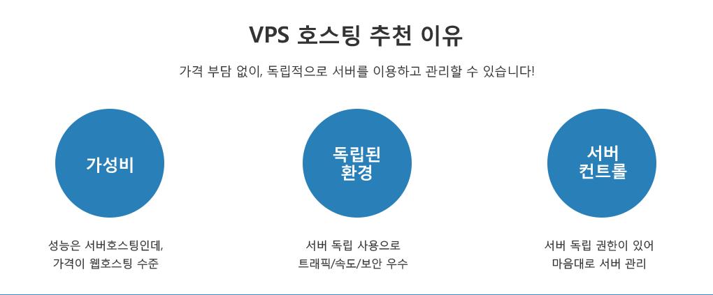 VPS 호스팅 추천 이유-가성비, 독립된 환경, 서버 컨트롤